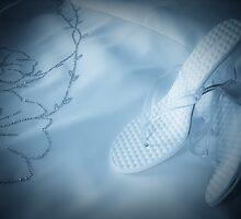 Wedding Shoes - Blue by Kory Trapane