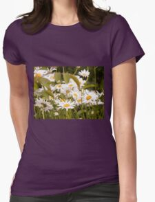 Summer Chamomiles 2 Womens Fitted T-Shirt