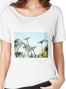 Summer Chamomiles 3 Women's Relaxed Fit T-Shirt