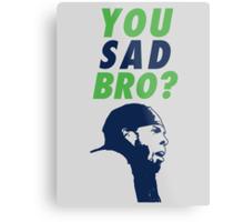 You Sad Bro? Richard Sherman Metal Print