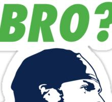 You Sad Bro? Richard Sherman Sticker