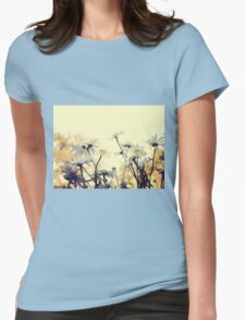 Summer Chamomiles 7 Womens Fitted T-Shirt