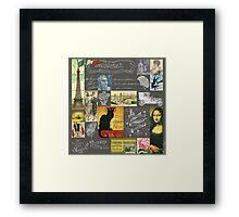 Les Timbres 3 Framed Print