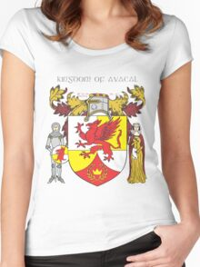 Kingdom of Avacal Women's Fitted Scoop T-Shirt