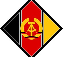 Roundel of the Air Force of German Democratic Republic, 1956-1990 by abbeyz71