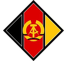 Roundel of the Air Force of German Democratic Republic, 1956-1990 Photographic Print
