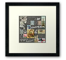 Les Timbres 4 Framed Print
