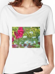 Summer Chamomiles 12 Women's Relaxed Fit T-Shirt