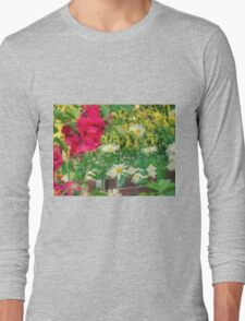 Summer Chamomiles 13 Long Sleeve T-Shirt