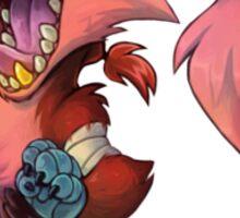 Foxy Meep Sticker