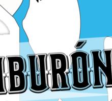 Tiburón Tiburón - Left Shark  - Super Bowl Halftime Shark 2015 Sticker
