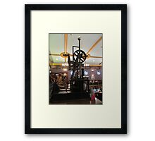 Is this the Tardis ? . Framed Print