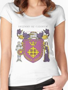 Kingdom of Calontir Women's Fitted Scoop T-Shirt