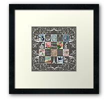 Les Timbres 2 Framed Print