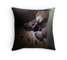 Guantanamo Bear Throw Pillow