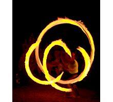 OCF Fire Poi 28 Photographic Print