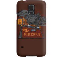Ride the Firefly Samsung Galaxy Case/Skin
