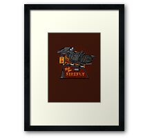 Ride the Firefly Framed Print