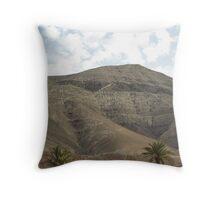 Lanzarote Mountain Throw Pillow