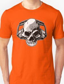 Skull phones T-Shirt