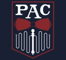 PAC Logo - Red and White (Small) by Zachary Metzger