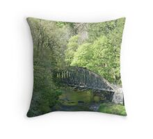 Nr. Keswick, Cumbria Throw Pillow