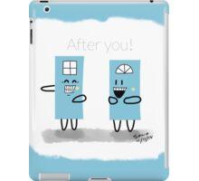 Being Polite  iPad Case/Skin