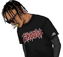 TRAVIS SCOTT Photographic Print