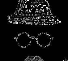 Moustache man 1 by MariondeLauzun