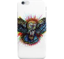 Color Barn Owl iPhone Case/Skin