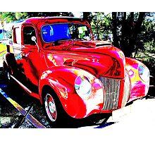Twin Cab  Photographic Print
