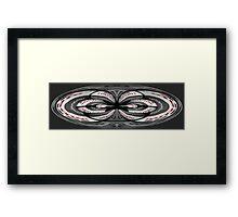 Spirograph Framed Print