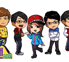 Running Man Art by drdv02
