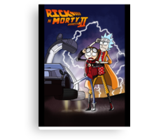 Rick n' Morty: To The Future Canvas Print