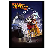 Rick n' Morty: To The Future Photographic Print