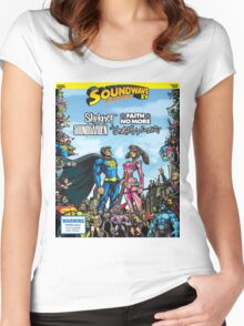 SOUNDWAVE FESTIVAL 2015 Women's Fitted Scoop T-Shirt