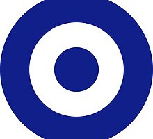 Roundel of the Hellenic Air Force (Greece) by abbeyz71