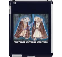 Jedi Yogie Masters iPad Case/Skin