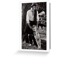 Harold and Shylowe the Wolf Greeting Card