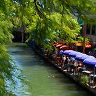 Riverwalk in San Antonio Tx by RolandoFoto