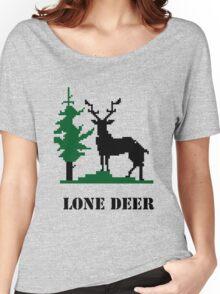 Lone deer Women's Relaxed Fit T-Shirt