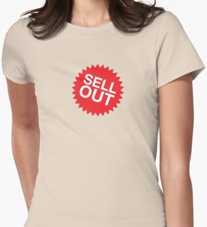 Sell Out 2 Womens Fitted T-Shirt