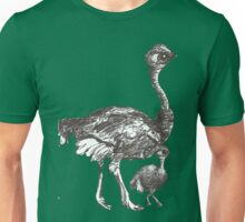 Mother and Chick Cyclostrich Unisex T-Shirt