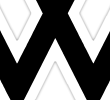 Winner logo Sticker