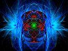 Spherical-Disc #5: Blue Lady Ghost of Moss Beach  (UF0581) by barrowda