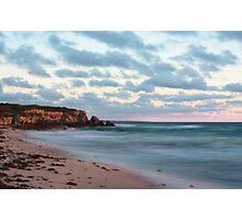 Cliffs at Burns Beach Photographic Print