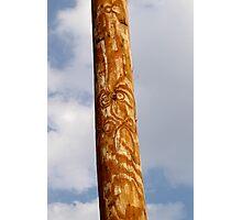 Power Totem Pole Photographic Print