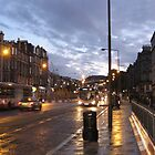Leith Walk at Sunset by Yonmei