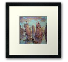 Requiem to Cultural Divergence Framed Print