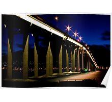 Tasman Lights Poster